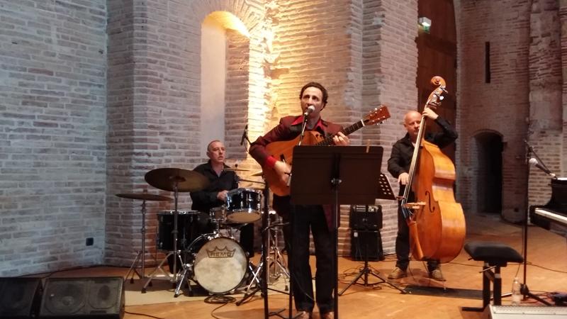 Antonio Testa (chant et guitare) et God-Liars - Saint-Pierre des Cuisines - Toulouse 2017