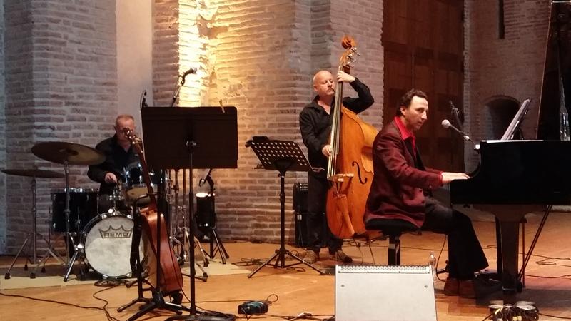Antonio Testa (piano) et God-Liars - Saint-Pierre des Cuisines - Toulouse 2017