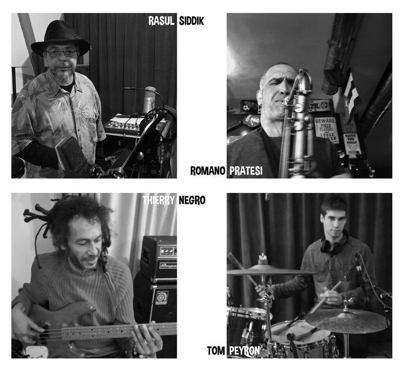 AZ Testa Quintet - Les musiciens